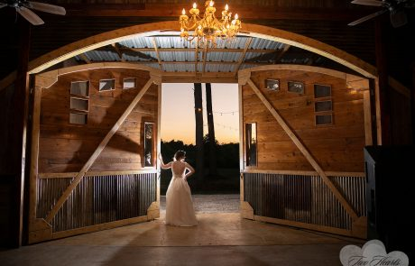 barn doors bride rustic wedding houston