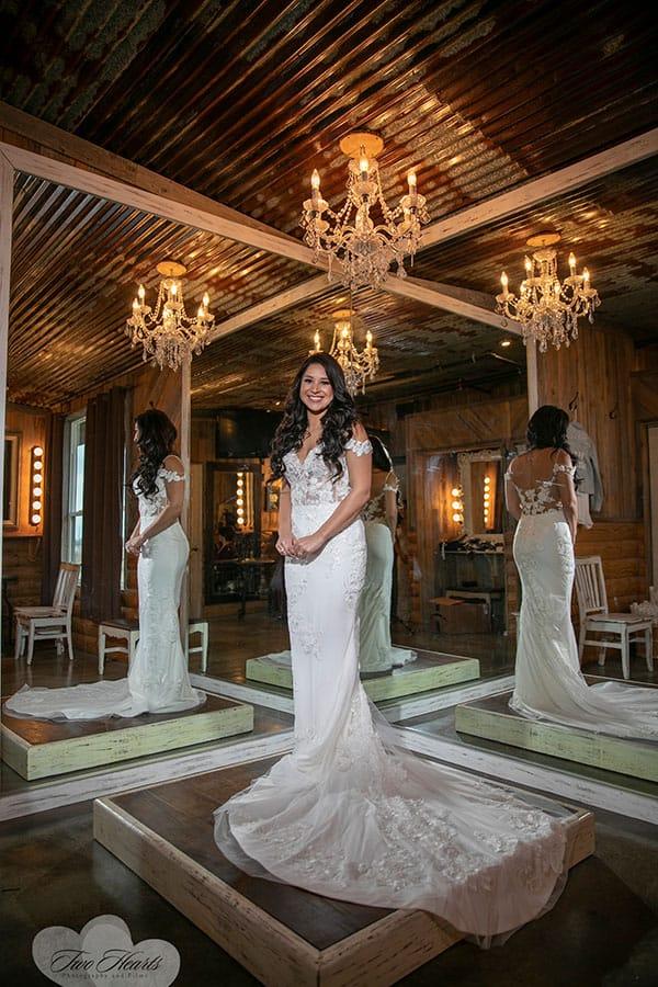 Bridal quite at the barn